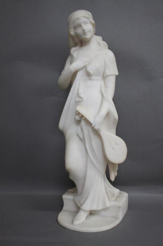 3: Good Late 19th Century Italian Marble Figure,
