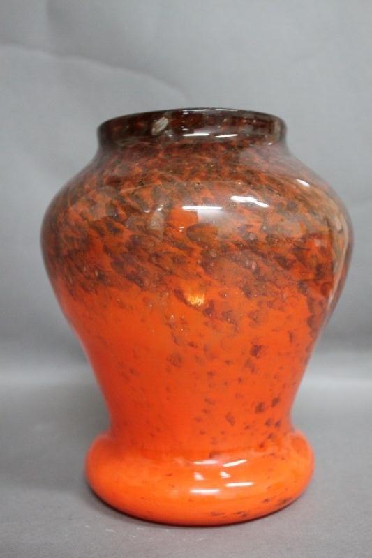 4: Good French Art Glass Vase, c.1930