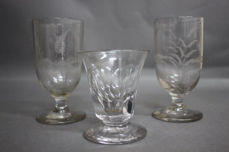 8: Two Short Georgian Glasses,
