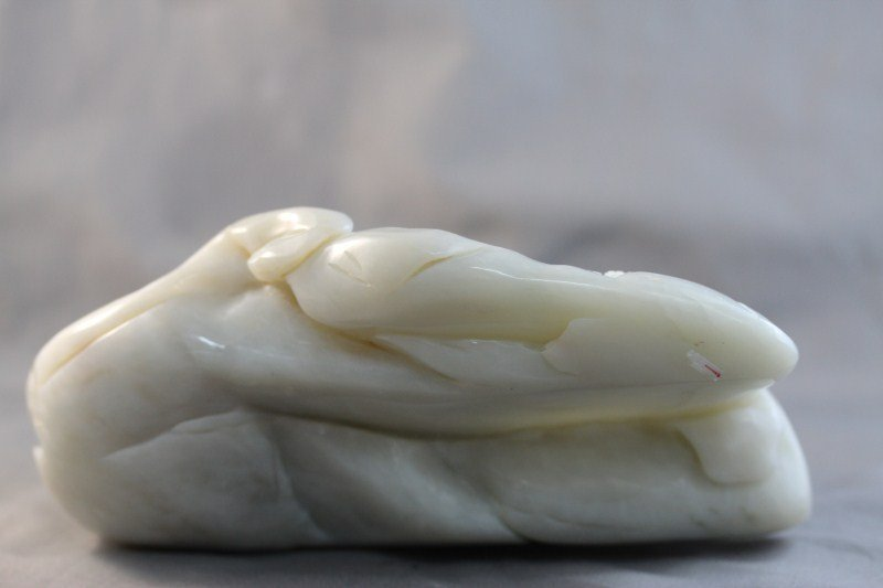 19A: Chinese White Jade Boulder,