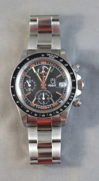43A: Tudor Chronograph Gentleman's Wristwatch,