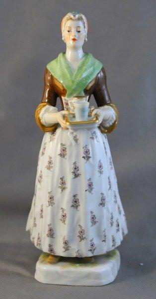204: Meissen Porcelain Figure,