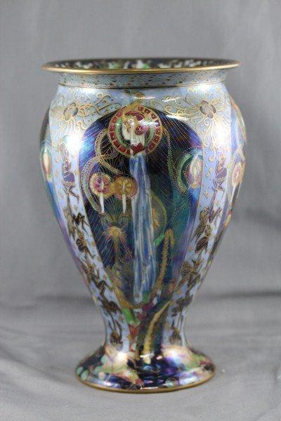 Rare Wedgwood Fairyland Lustre Candlemas Vase,