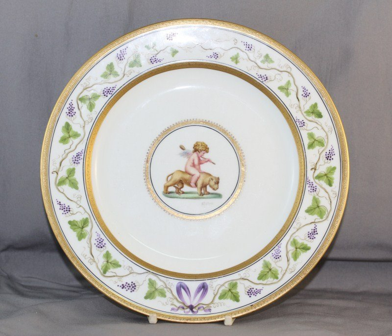 Rare Wedgwood Cabinet Plate,