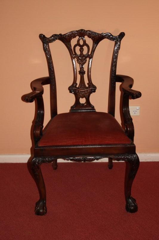 Victorian Armchair,