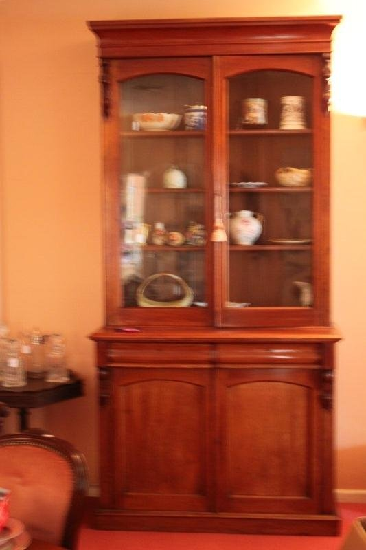 Australian Colonial Cedar Bookcase,