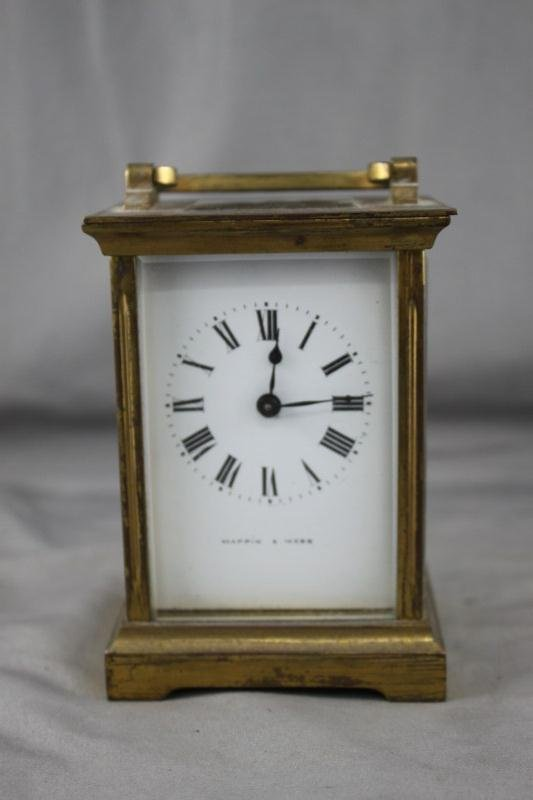Mappin and Webb Carriage Clock,