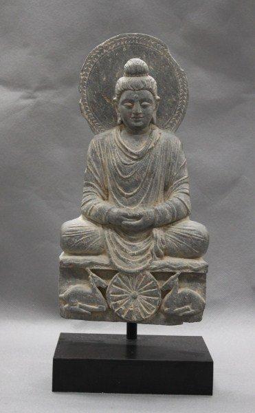 Stunning Rare 3rd Century Gandhara Grey Schist