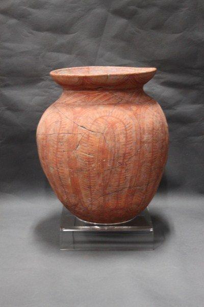 Large 2nd Century Bang Chang Pottery Vase,