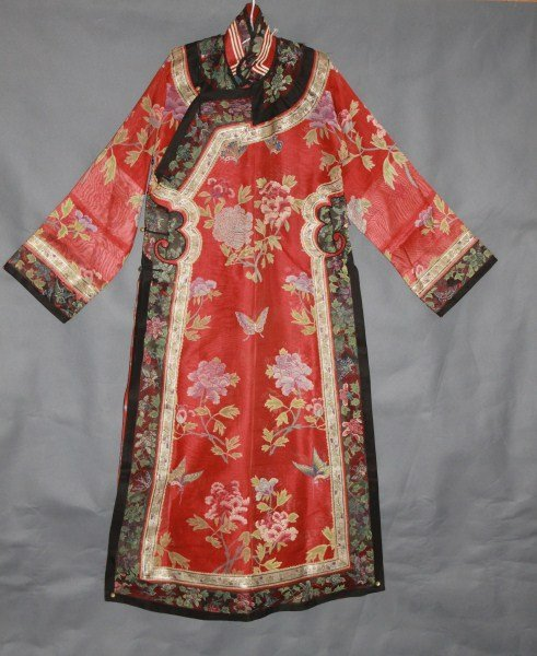 Chinese Late Qing Dynasty Ladies Wedding Robe,