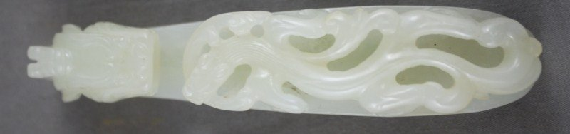 Good Chinese Qing Dynasty, Pale Celadon Jade