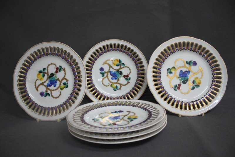 Set of Six Late 19th/Early 20th Century Russian