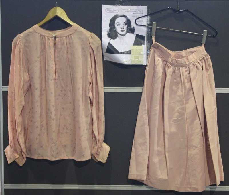 Saint Laurent Skirt and Blouse Worn By Betty Davis