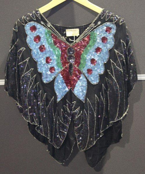 Stunning Vintage Sequins Top by Sequins Queen,