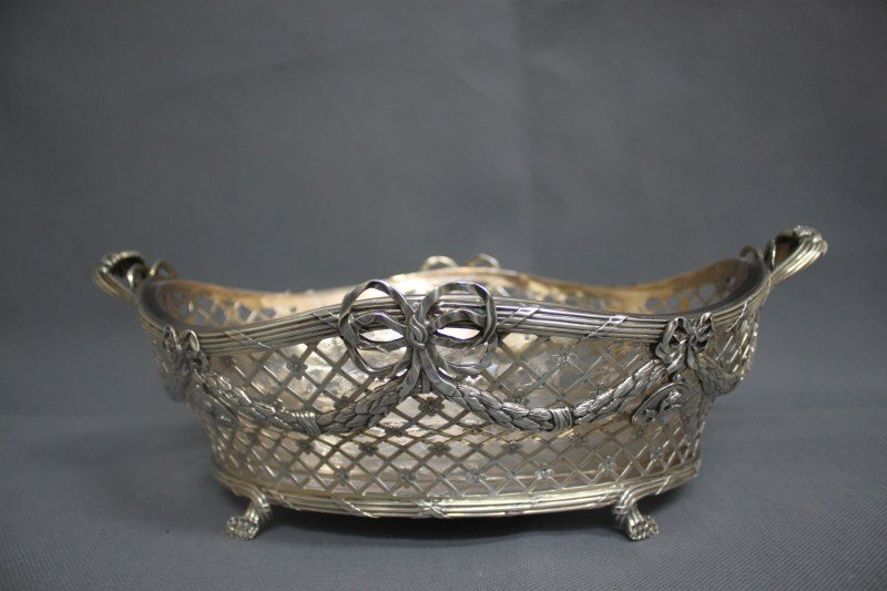 Stunning Large Late Victorian Sterling Silver Twin
