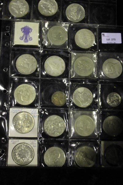 Nineteen Various Coins,