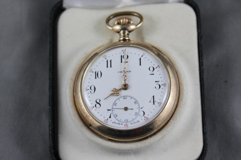Good Swiss Chimer Pocket Watch,