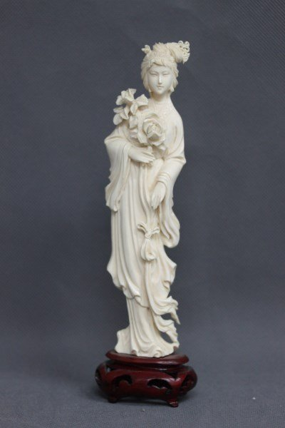 Chinese Ivory Figure,
