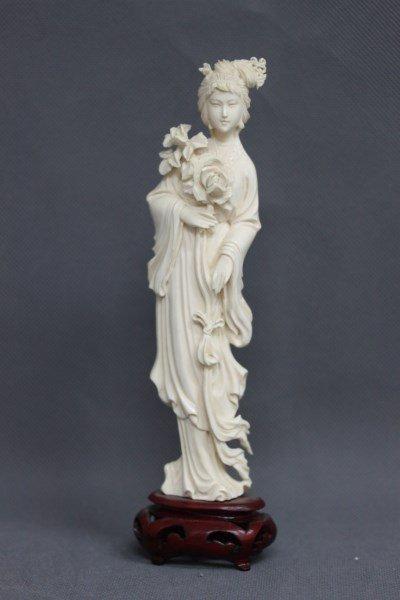 Chinese Ivory Figure,