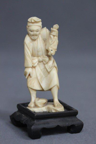 Japanese Ivory Figure,
