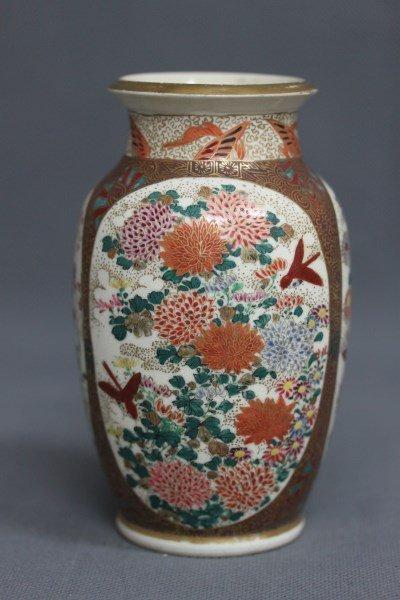 Good Satsuma Vase,