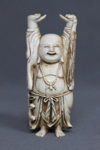 Good Chinese Ivory Buddha,
