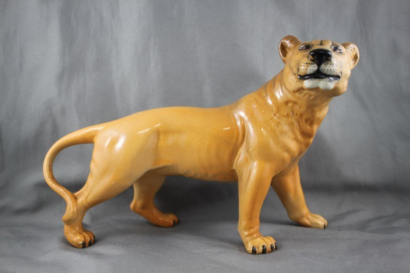 Beswick Porcelain Lioness,