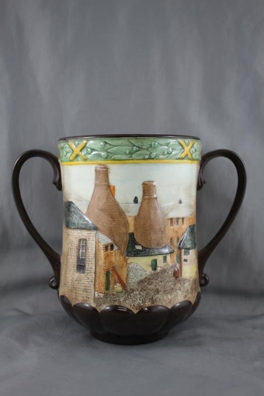 Royal Doulton Porcelain Loving Cup,