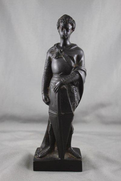 Victorian Bronze Figure of St. George,