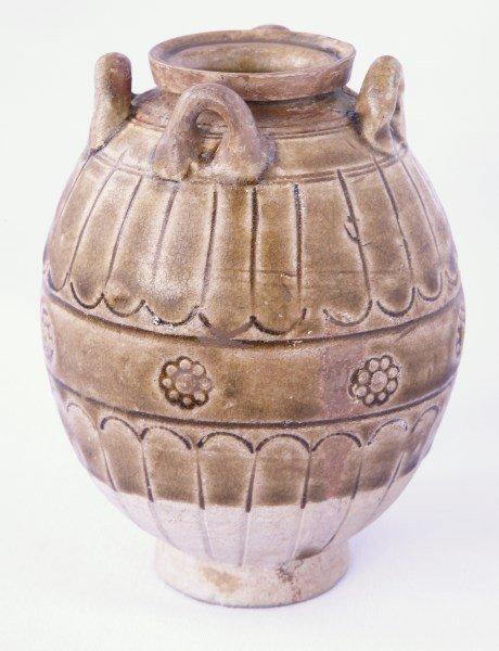 Chinese Tang Dynasty, (618-907), Celadon Jarlet,