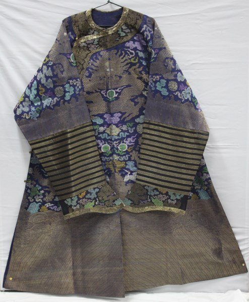 Chinese Late Qing, 19th Century Summer Robe,