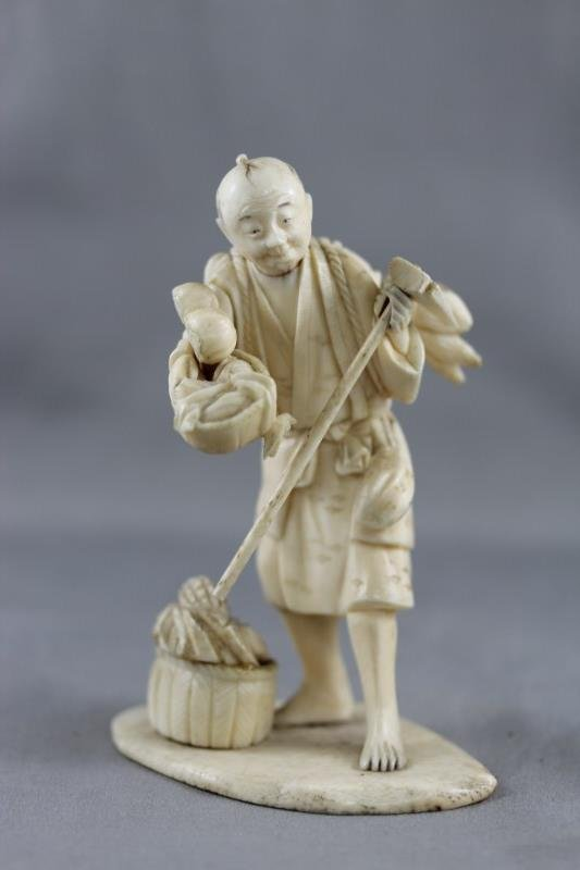 Early 20th Century Japanese Ivory Figure,