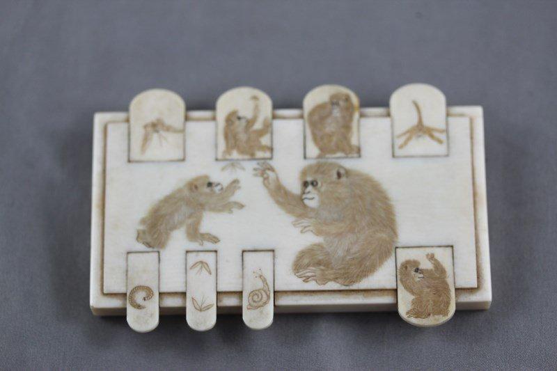 19th Century Ivory Wist Counter,