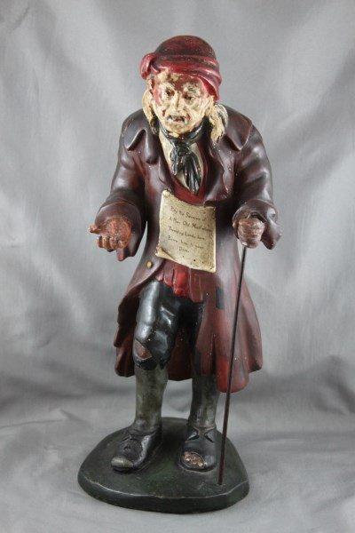 Regency Polychrome Plaster Figure, c.1817
