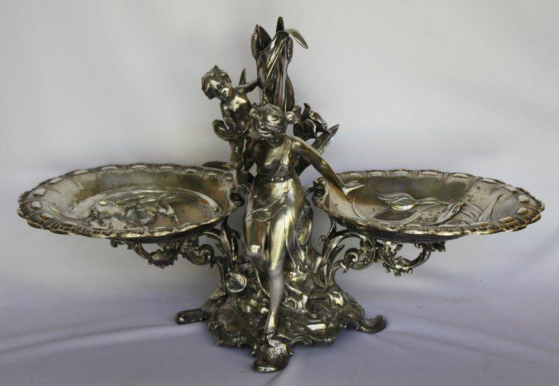 Magnificent WMF Art Nouveau Centre Piece,