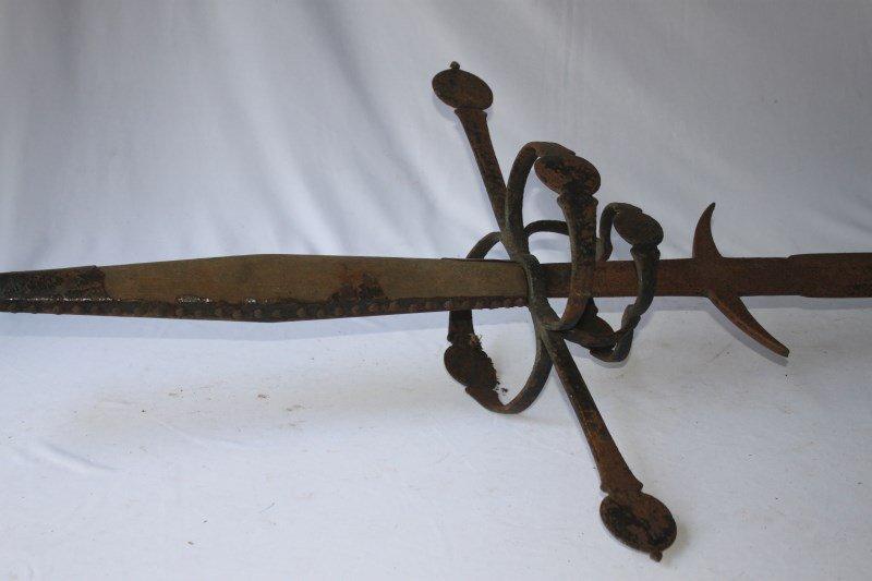 16th Century German Two-Handed Bearing Sword,