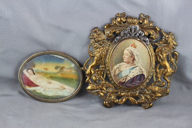 19th Century Ivory Portrait Miniature,