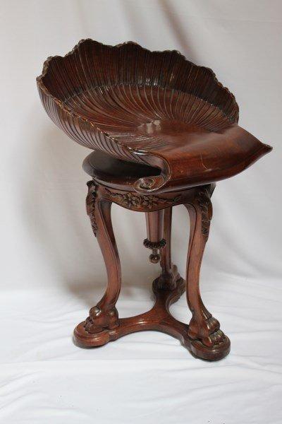 Fine Regency Piano Stool,