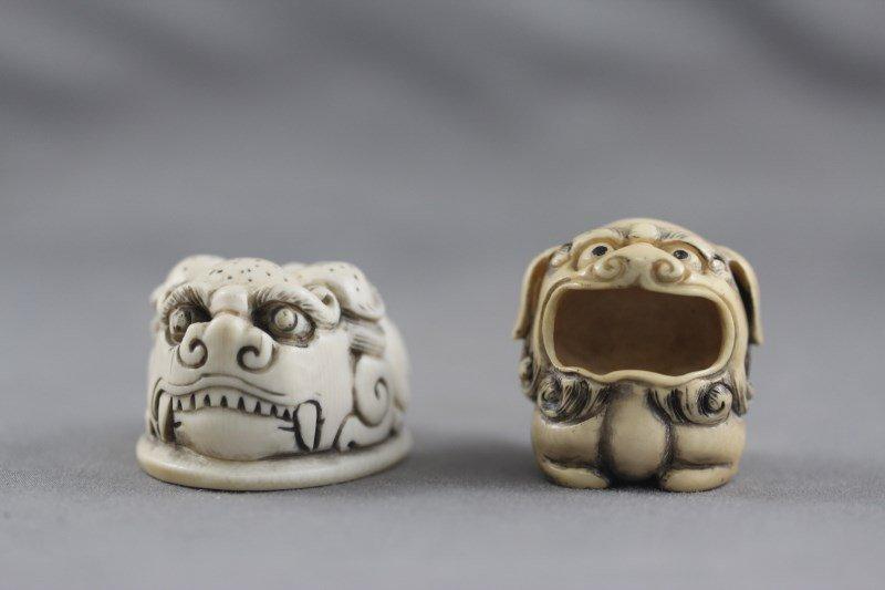 Two Good Ivory Netsuke,