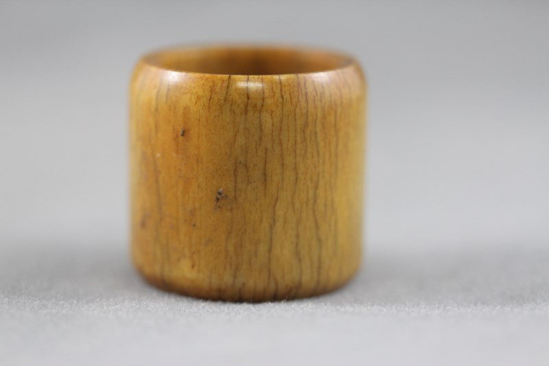 Chinese Ivory Archers Ring,