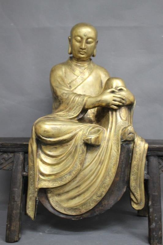 Wonderful Gilt Bronze Buddha,