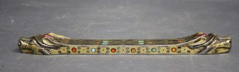 Rare Chinese Silver Gilt Weight,