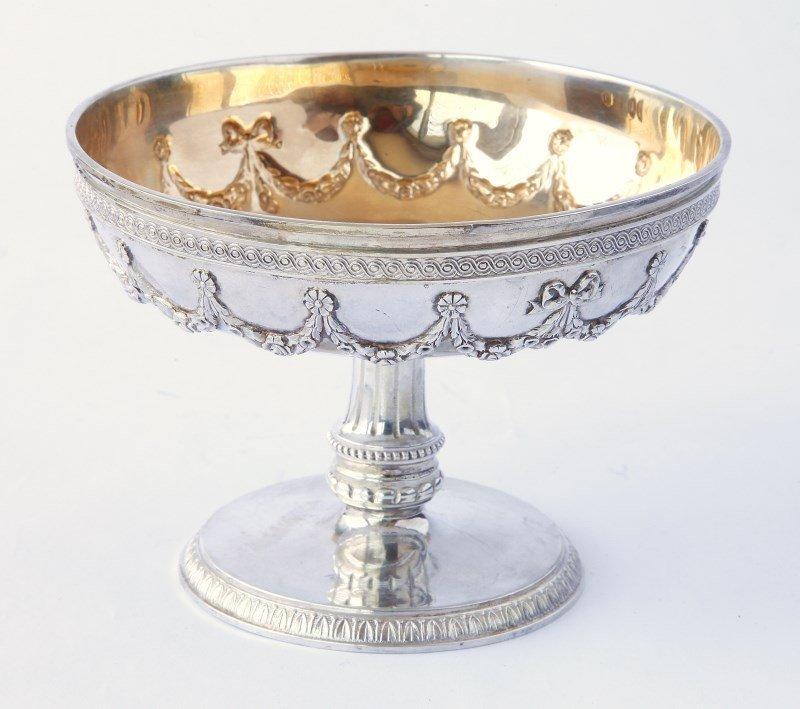 Wonderful Russian Silver Comport,