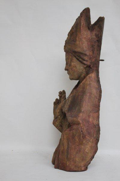 Rare 15th Century Bishop Torso, - 3