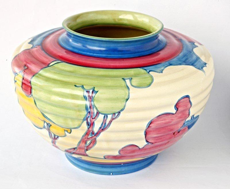 Clarice Cliff Bizarre Vase,