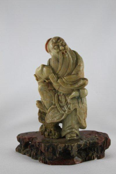 Chinese Soapstone Figure,