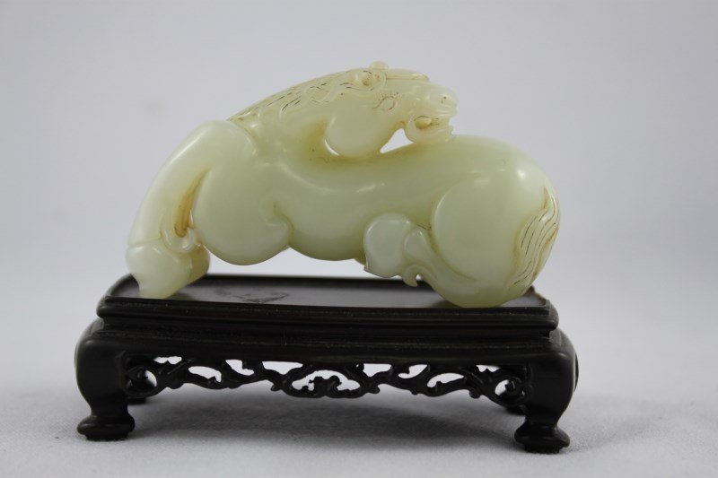 Chinese Carved Jade Horse,