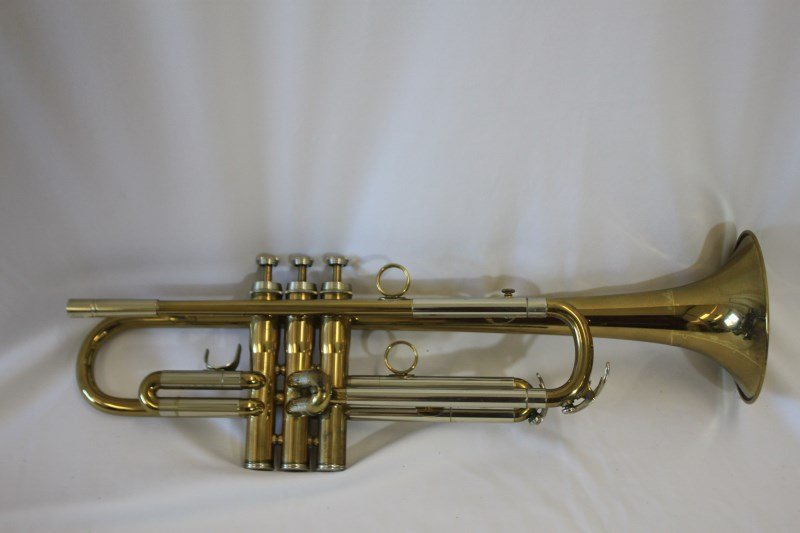 Gold Lacquered Trumpet by B & H,