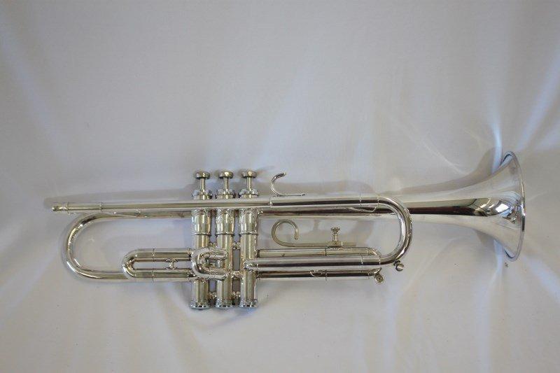 Silver Plated Trumpet by Getzen,