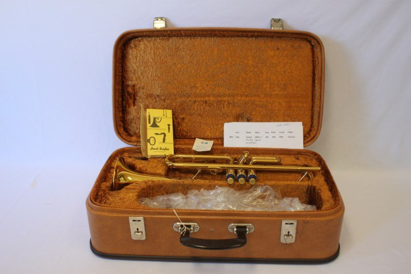 Gold Lacquered Trumpet by Amati,